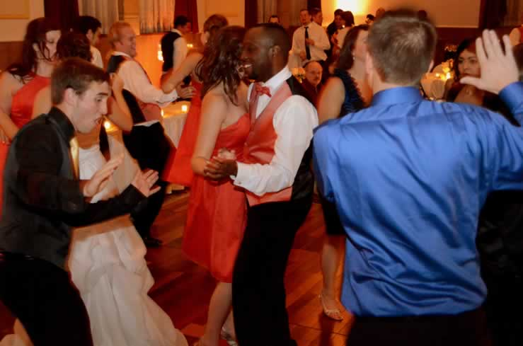 Swing Dancing To The Sounds Of Best Detroit Band For Wedding Receptions