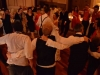 Guests Surround Bridal Couple During Last Dance of Detroit Wedding Reception