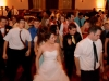 Bride and Wedding Reception Guests Enjoy Dancing to Live Music of Detroit Big Band