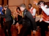 Crazy Fun on the Dance Floor at SE Michigan Wedding Reception