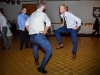two-guests-entertain-crowd-with-their-dancing-at-detroit-wedding-reception