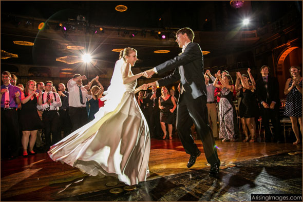 Best Detroit Wedding Band Delights Bride and Groom at Wedding Reception