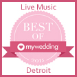 Detroit Wedding Bands Award My Wedding Best of 2015