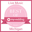 Michigan Wedding Bands Award My Wedding Best of 2015